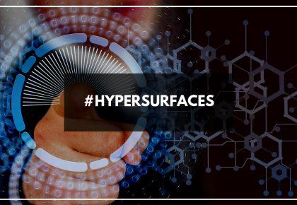 Avec HyperSurfaces, toutes les surfaces deviennent intelligentes et tactiles