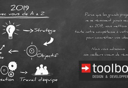 TOOLBOX : 2019 Avec vous de A à Z !!!!