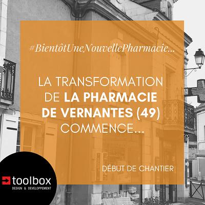Agencement d'une pharmacie au sein d'un bâtiment du 19ème siècle !