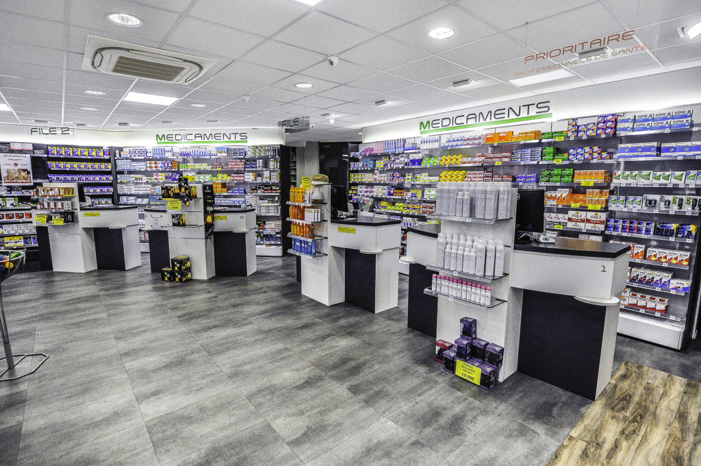 Transfert Pharmacie de l'Eglise à Corbeil Esonnes