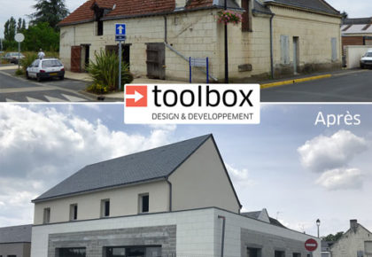 Un nouveau bâtiment réalisé par Toolbox