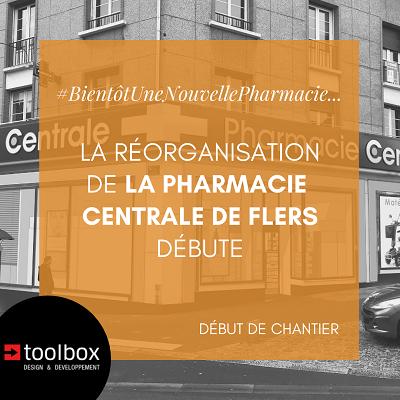La réorganisation de la pharmacie centrale de Flers vient de débuter