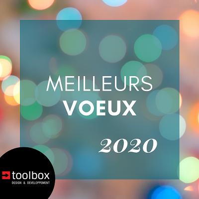 MEILLEURS VŒUX POUR 2020, L'ANNÉE DE VOS PROJETS