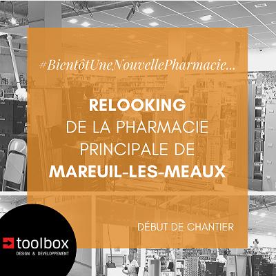 Mareuil-les-Meaux : relooking pour la Pharmacie Principale