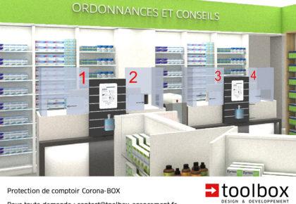 Corona-BOX : Une protection ! Une information ! Une solution !
