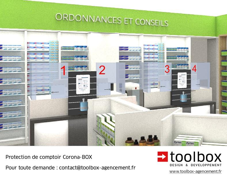 Visuel Corona Box TOOLBOX comptoirs