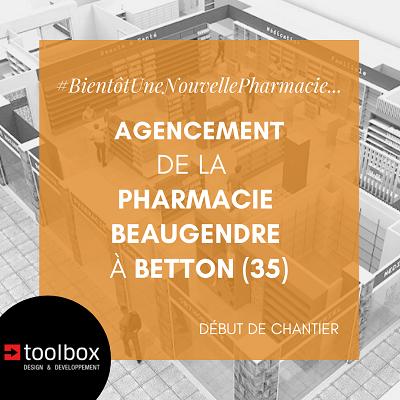 Betton : le nouvel agencement de la pharmacie Beaugendre est lancé