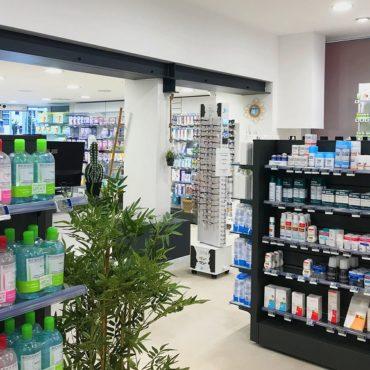ERMONT : relooking et nouvel aménagement pour la Pharmacie du Centre