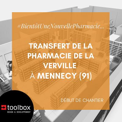 Essonne : à Mennecy, la pharmacie de la Verville transférée dans un local plus spacieux